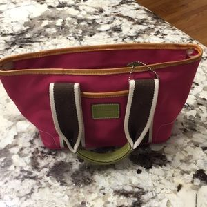 Authentic coach bag. Small. Pink